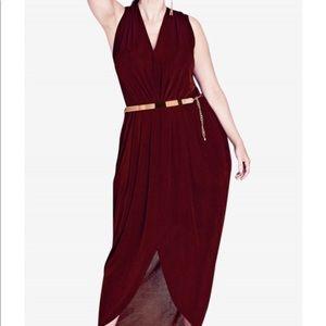 City Chic Slink Maxi Dress